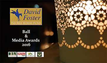 David Foster Injured Riders Fund Ball 2016